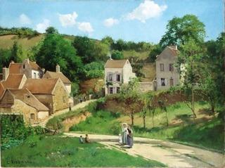 1867年_エルミタージュの丘、ポントワース_カミーユ・ピサロ.jpg